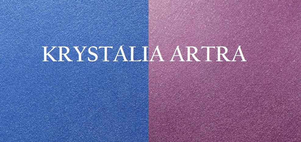 КРИСТАЛИЯ е уникална като ефект и визия декоративна пясъчна мазилка на основа специална акрилна емулсия и пигменти с кристален ефект