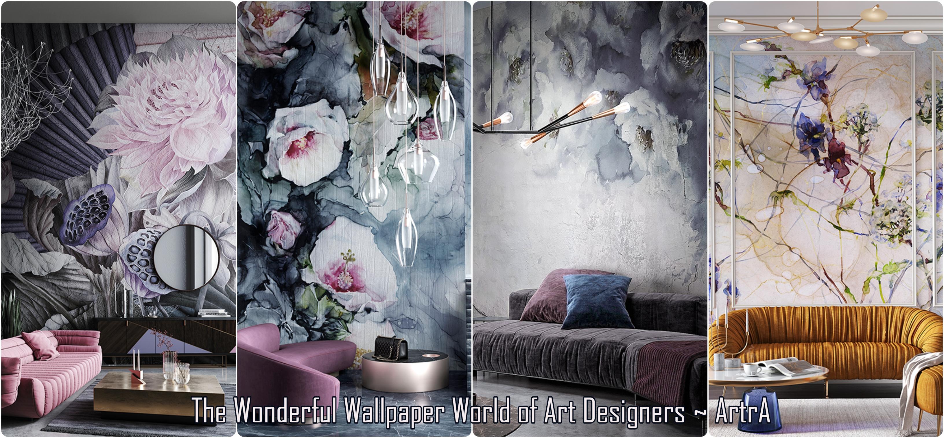 Луксозни дизайнерски тапети с отлично качество на печат и уникални дизайни